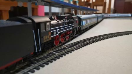 人民型 蒸汽机车牵引25G客列