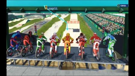 [转]奥运第七期这就是世界上最强的小轮车选手?一个打十个