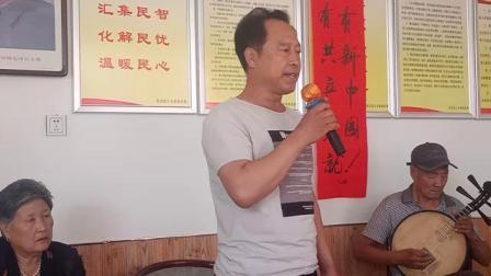 穆家口业余剧社朱广川演唱空城计选段 京胡,李明武,司鼓王作祥