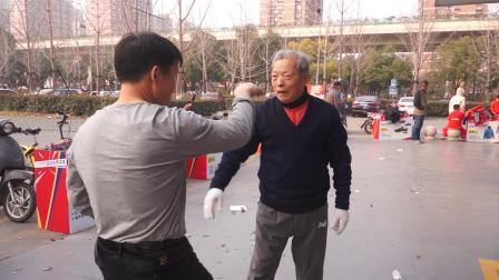 杭州市拱墅区运河广场巩式通臂拳非物质文化遗产武术表演