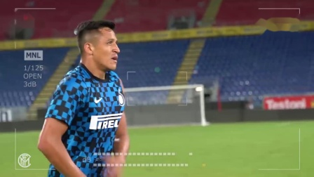 SANCHEZ CAM  ALEXIS' FIRST TASTE OF LIFE AT INTER 🇨🇱⚫🔵