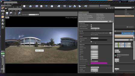 UE4的HDRI贴图和反射捕捉以及镜面材质的设置