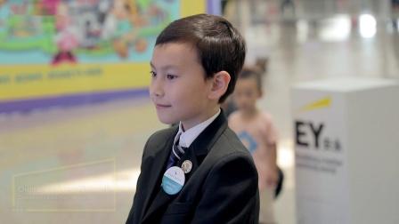 香港国际机场广告参考: EY安永互动体验区