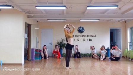 杭州市太拉国际东方舞瑜伽培训学校 —— 晨晨老师—鼓舞@太拉国际 杜骏毅 的视频原声