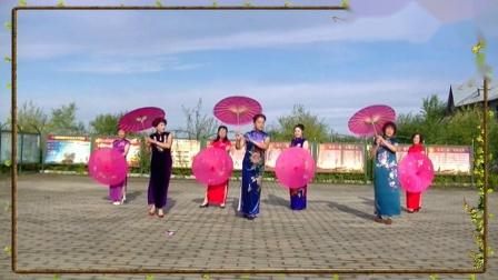 哈尔滨冰雪广场舞[旗袍女儿情]集体版