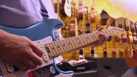 Eric Clapton 红遍全球的歌曲,也展现了推弦的魅