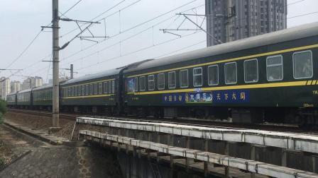 K731 大同-广州东 快速通过八里湖大桥