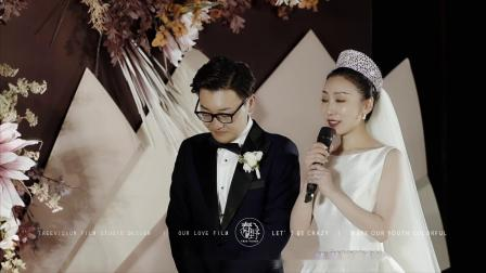 洛阳姑娘婚礼现场朗诵《致橡树》   春野影像出品