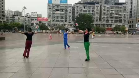 木兰学练十二套祖国万岁
