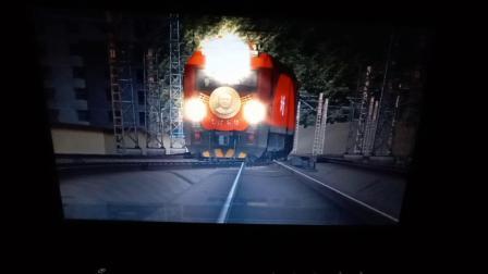 硬核录屏  3d1893挂车  模拟火车2016