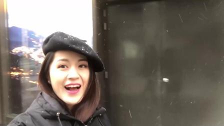 上海,下雪了,壮举。上海世界上最大的星巴克储备烘焙店