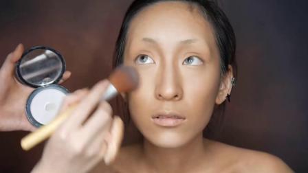 原始化妆课程女祭司