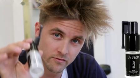 如何保持发型-剪裁和体量-Slikhaar电视给男人的头发灵感