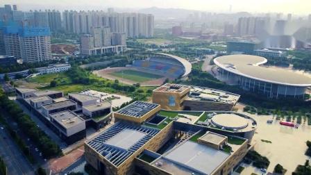 航拍:被济南人戏称为宇宙中心的唐冶新区,如今成为自贸区,你觉得怎么样?