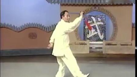 32式太极剑 (李德印老师背向演练)[普清版]_标清