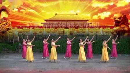冰莲广场舞集体版《我和我的祖国》