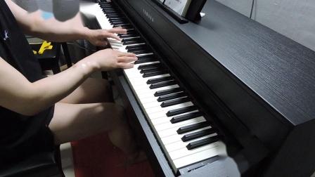 我多想见到你哟钢琴E