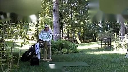 高尔夫握杆力度的把握