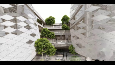 九号设计 李东灿 作品《城市浮山》
