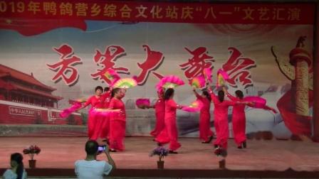 临城广场舞 欢聚一堂 前留村舞蹈队 方等大舞台2019庆八一晚会