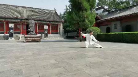 陈家沟祖祠太极剑