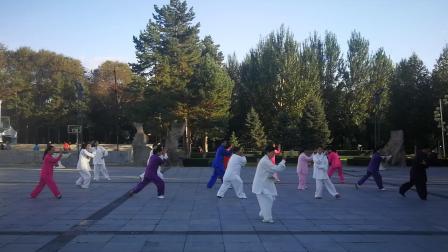 六合八法拳  表演:黑龙江农垦红兴隆管理局红枫太极健身队