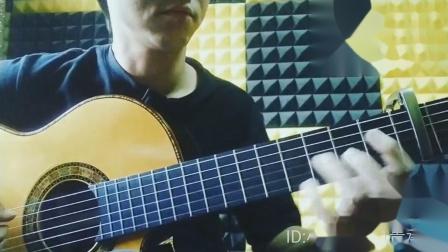 小蒋吉他 印度玫瑰木缺角喷漆弗拉门戈 布鲁利亚斯舞曲