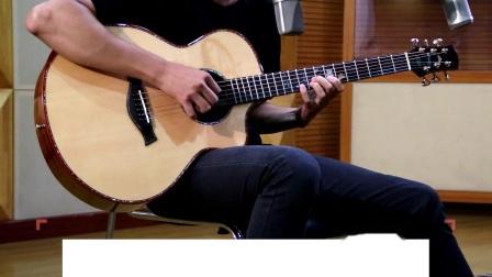 Aotier奥蒂尔《荷花》系列 AD-80CNS全单吉他音色视听