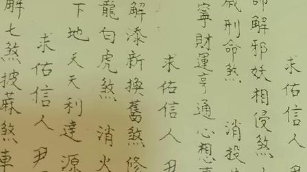 蔡佳成道长为滨州信众做开财门法事