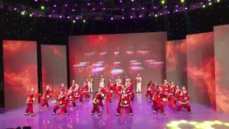 老婆婆腰鼓,在全市离退休干部,庆祝建国70周年文艺晚会上的表演视频,(2019.9.19晚,延安电视台)