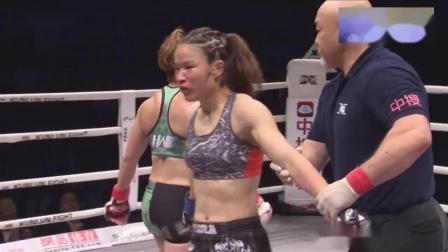 张伟丽暴打日本女兵,满脸都是血追着打,真是太暴力了