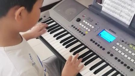 《我和我的祖国》电子琴曲