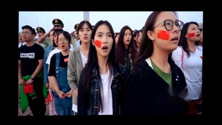 70大庆罕见;天安门快闪,我爱你中国 很多人都是一边看一边哭
