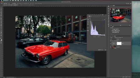 Photoshop曲线工具调整日系和德味效果 Adobe摄影