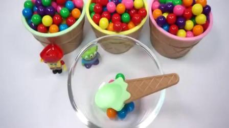 儿童玩具彩虹糖果奇趣蛋拆封视频[高清版]