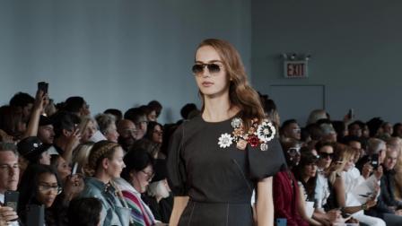 纽约时装周 | Bibhu Mohapatra优雅依旧,水晶成为设计加分项