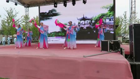 不忘初心牢记使命.祖国在我心中文体展示之宗裕城舞蹈队舞蹈《谁不说俺家乡好》片段