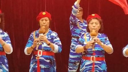 2019迎国庆天山里文艺汇演丝韵社团《红歌联奏》