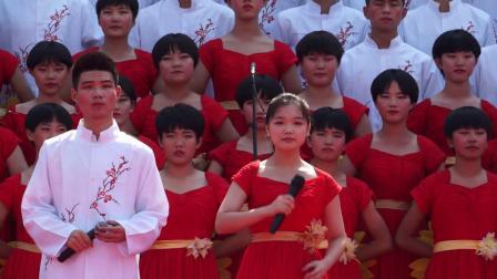 井陉一中以梦为马,不负韶华,倾情歌唱祖国成立70周年!