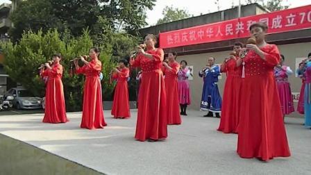 西安莲湖区社区教育学院国庆汇演