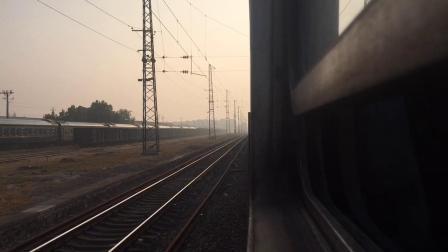 国庆临客K5832出夹河寨,经过徐州西终到徐州站