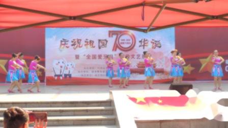 """贺州市八步区举办""""全国爱牙月""""宣传文艺展播《亲亲壮乡》 多彩摄制"""