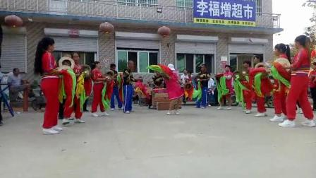 雄安新区东柳鼓乐队庆国庆70周年大高村文艺汇演