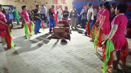 雄安新区东柳鼓乐队庆国庆中龙堂艺演晚场