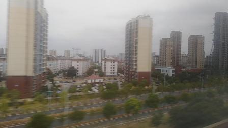 G7608通过江宁站进入南京南站道路场。