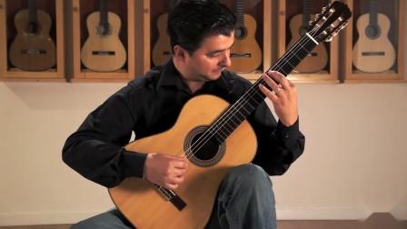 奧古斯丁•皮奧•巴里奧斯 : D小調為吉他所作的圓舞曲Op.8 No.3