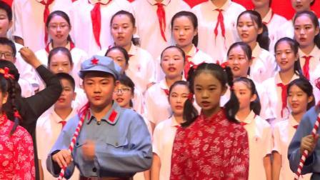 初一3、4班《共产儿童团歌》