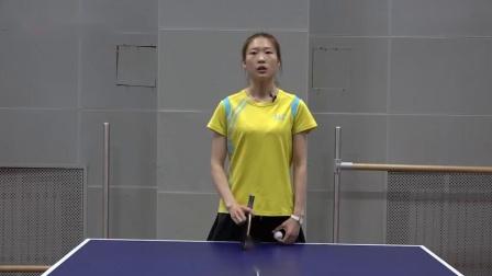 【乒乓生活】《代恬长胶乒乓球系列教学》第二集长胶刮打技术_高清
