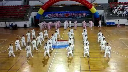 2019年恭城老年大学九九重阳节,拳剑六班八法五步表演!