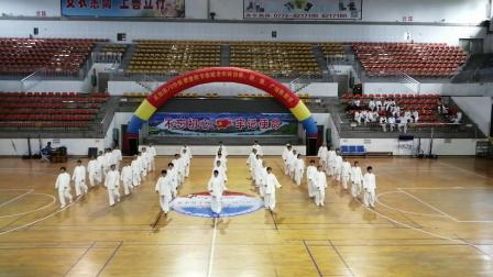 2019年恭城老年大学,九九重阳节拳剑二班杨氏40式太极拳表演!